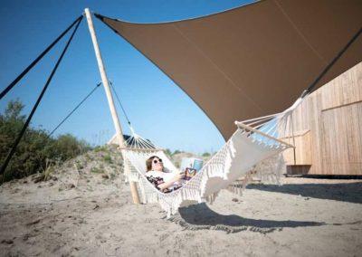 Strandhuisjes Qurios Roompot ECO Grevenlingenstrand #