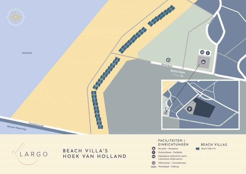 plattegrond largo hoek van holland